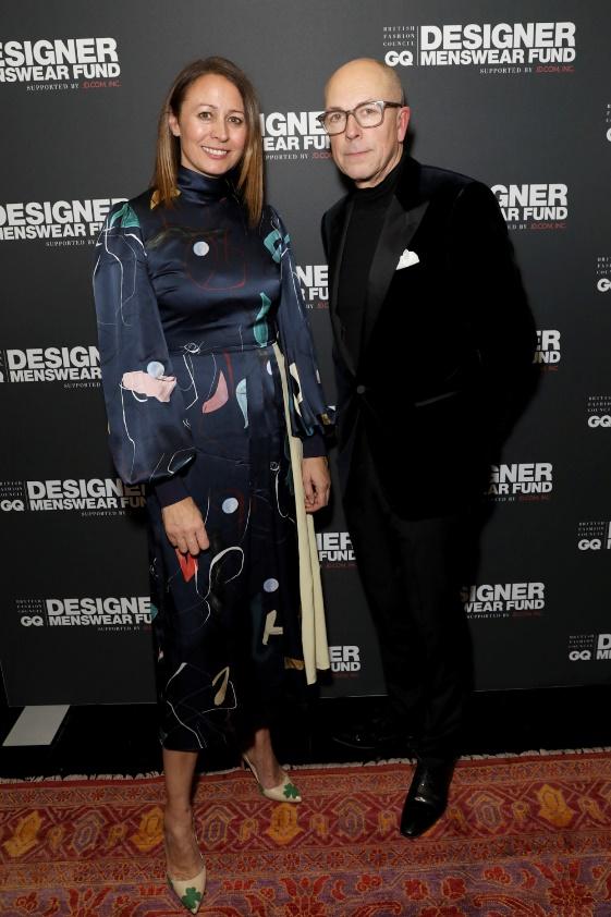 Caroline Rush and Dylan Jones