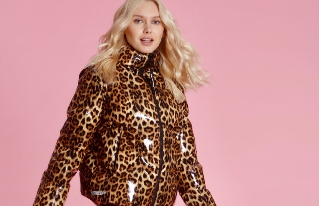 A look from the fall Juicy Couture outerwear line.
