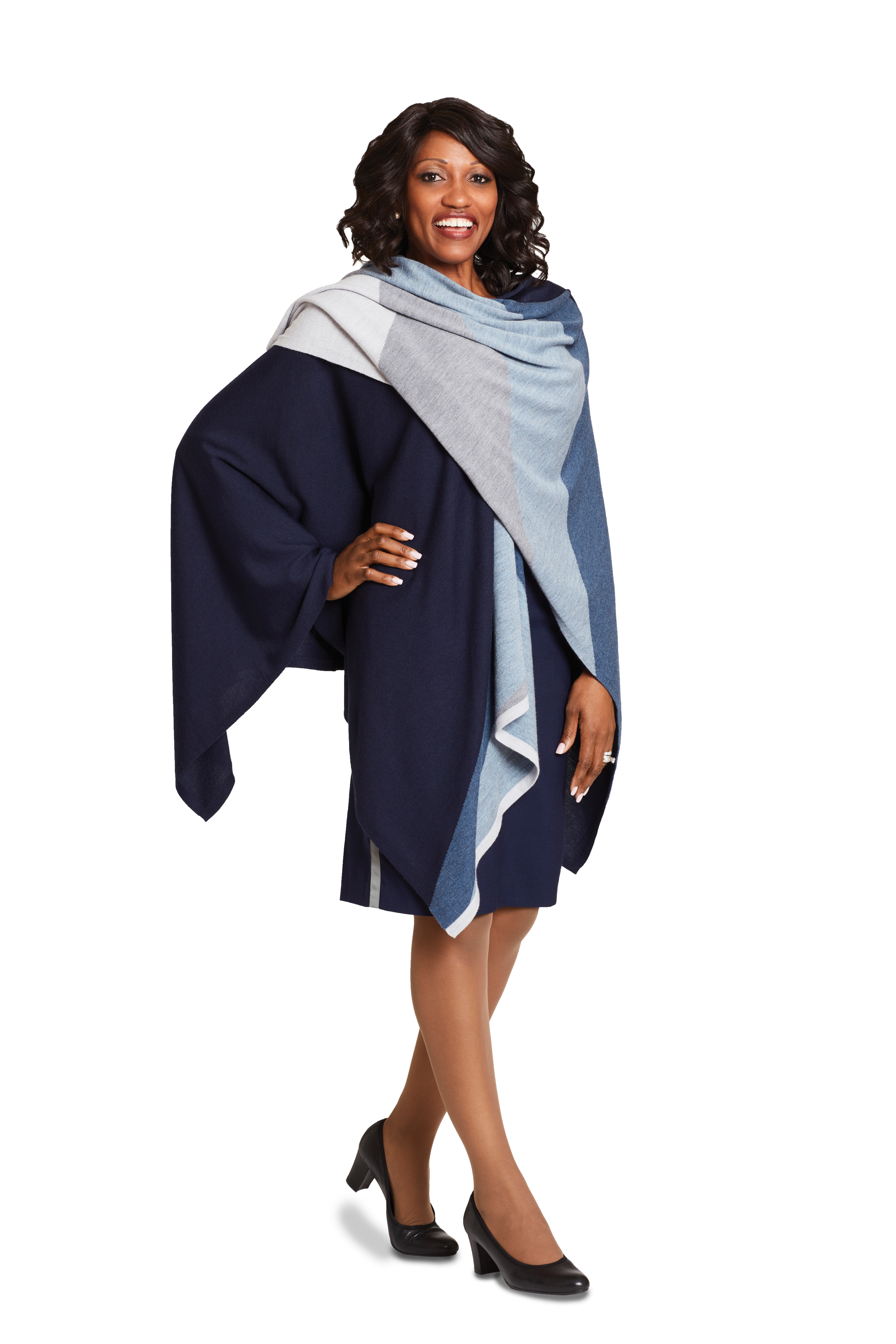 A design by Tracy Reese for United's female flight attendants.