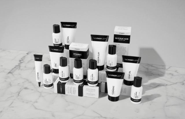 The Inkey List skincare range