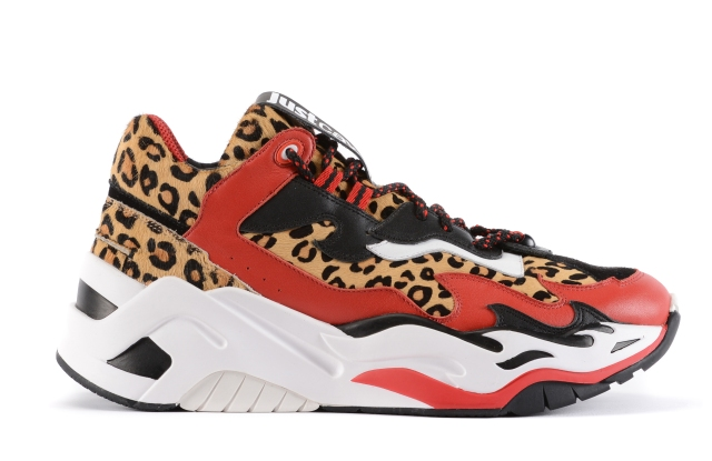 """Just Cavalli """"P1thon"""" sneakers launching for Pre-Fall 2019."""