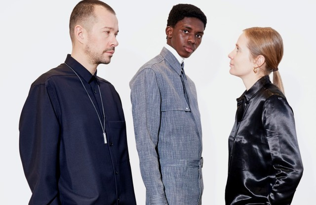 Luke and Lucie Meier with a look from the fall/winter 2019–20 collection.