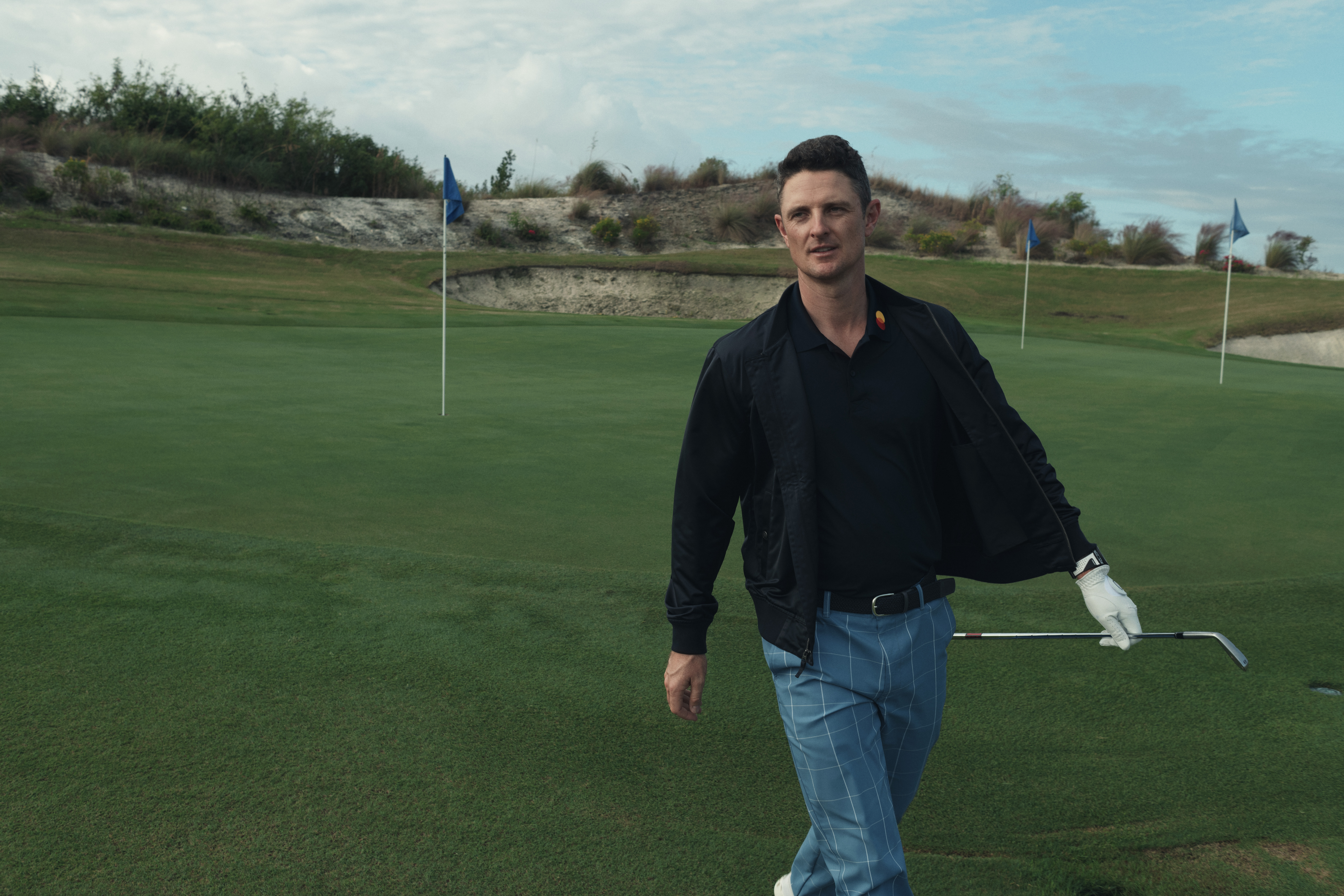 Justin Rose in Bonobos.