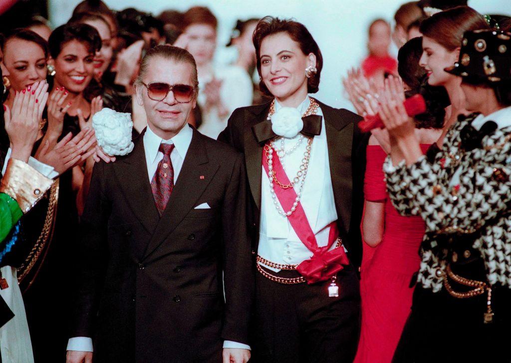 Karl Lagerfeld, Ines de la Fressange, Chanel
