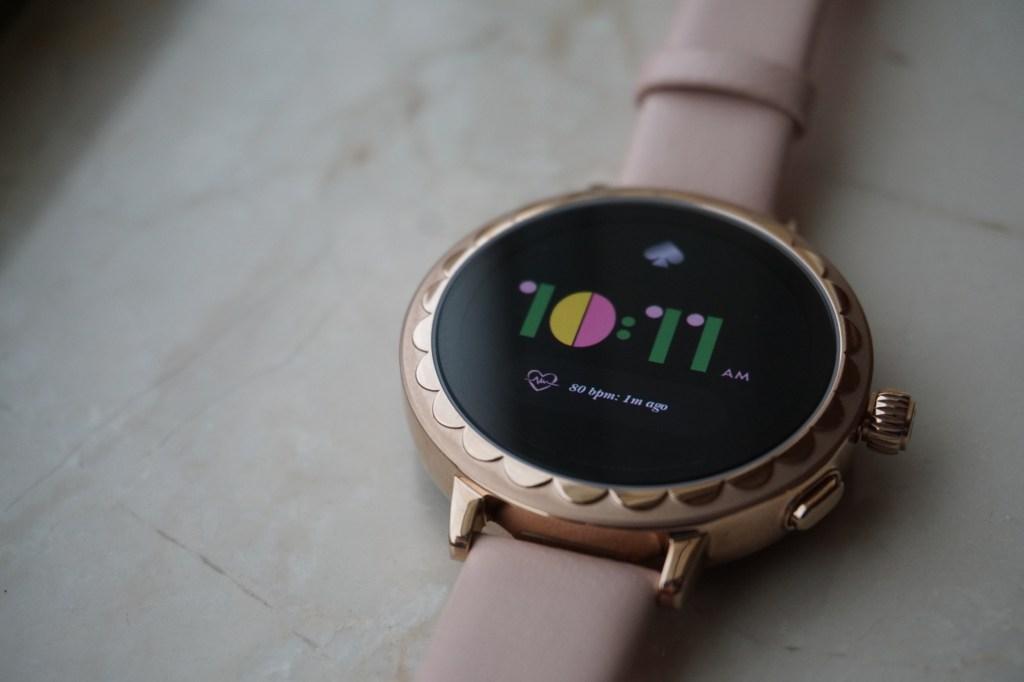 kate spade smartwatch wearable ces 2019 wear os fossil