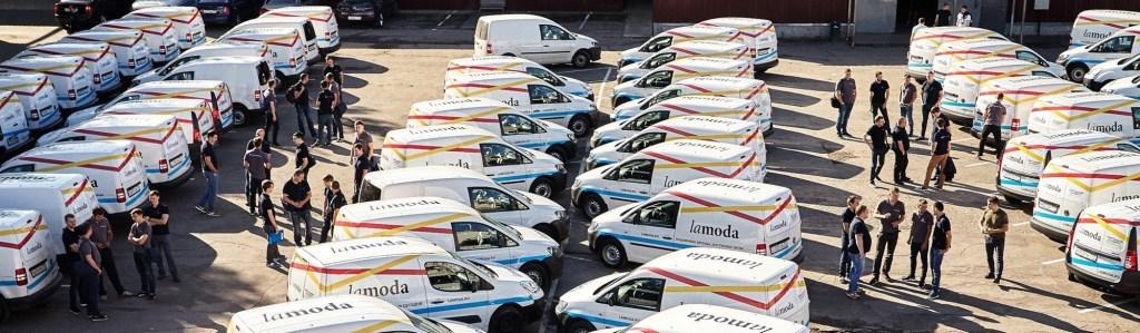 Global Fashion Group, La Moda delivery trucks