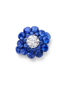 Chopard's magical setting sapphire ring