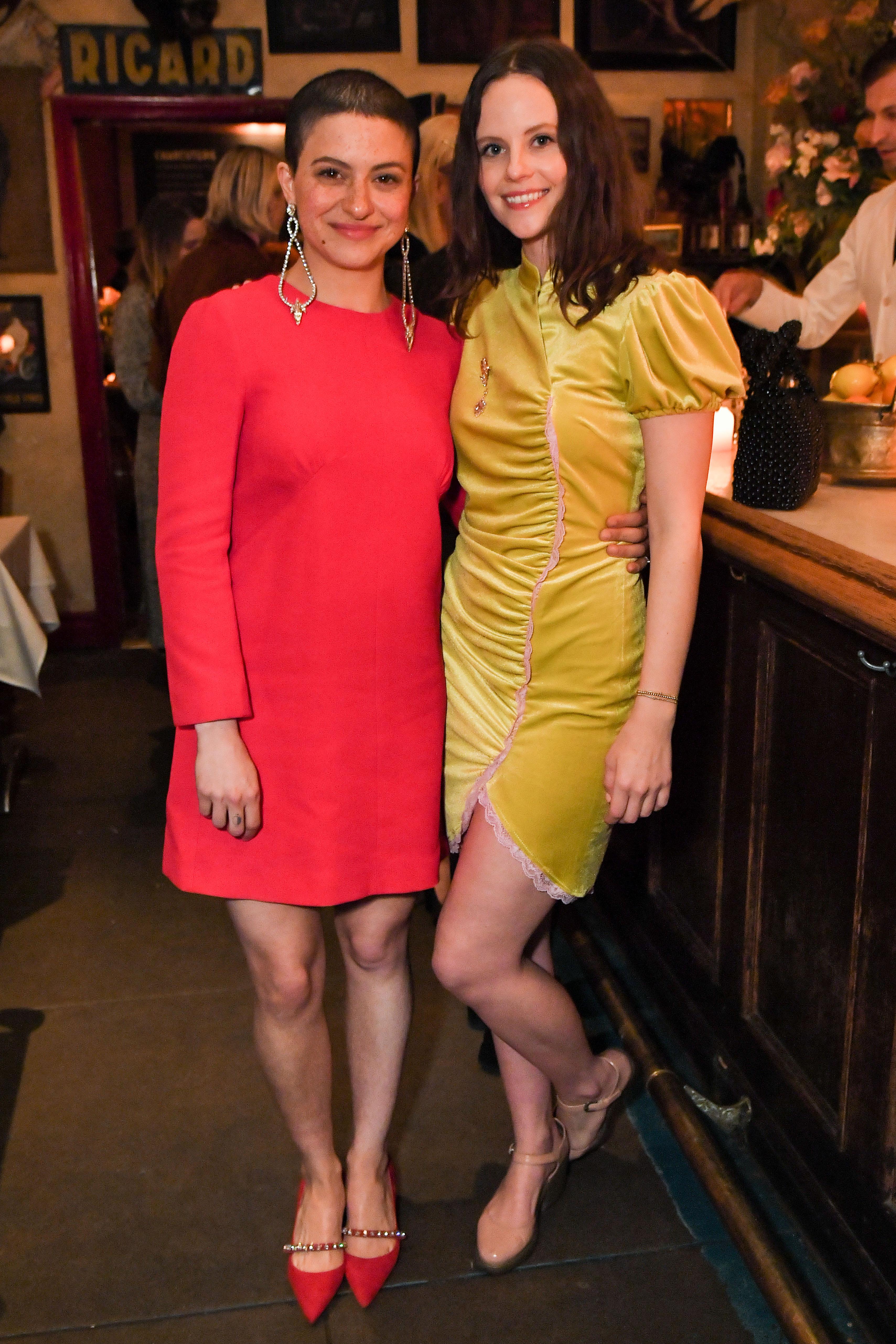 Alia Shawkat and Sarah RamosMiu Miu 'SHAKO MAKO' Release Party, After Party, Vista Theater, Los Angeles, USA - 25 Jan 2019