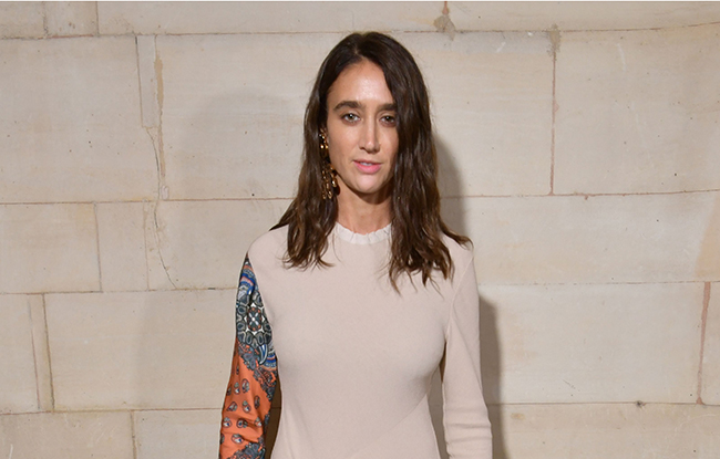 Natacha Ramsay-Levi in the front rowLouis Vuitton show, Front Row, Spring Summer 2019, Paris Fashion Week, France - 02 Oct 2018WEARING OWN COLLECTION CHLOE SAME OUTFIT AS CATWALK MODEL *9890103s