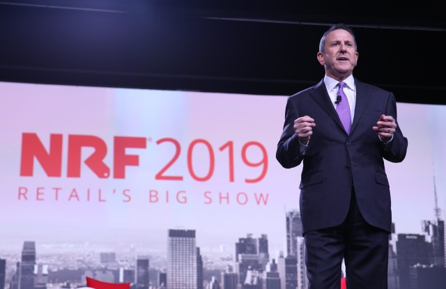 TargetÕs Brian Cornell at the NRF convention.
