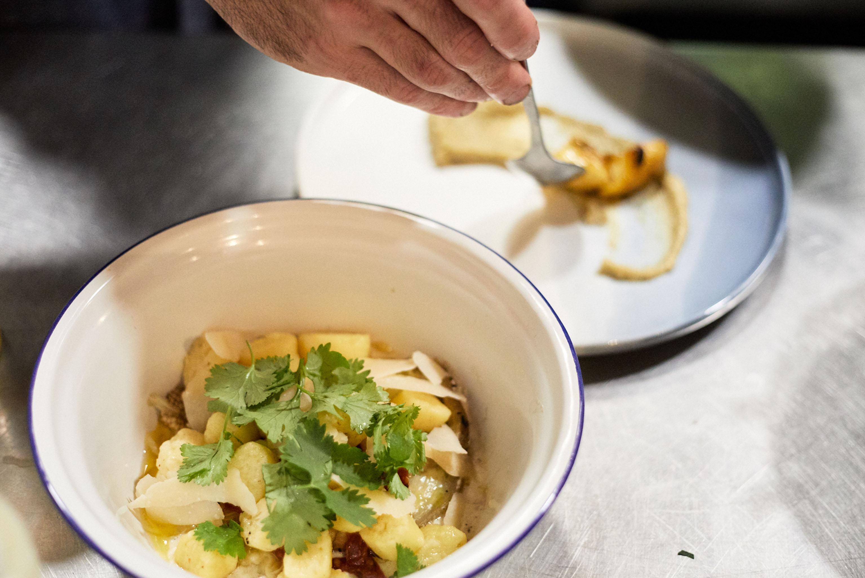A bowl of gnocchi at Baba.