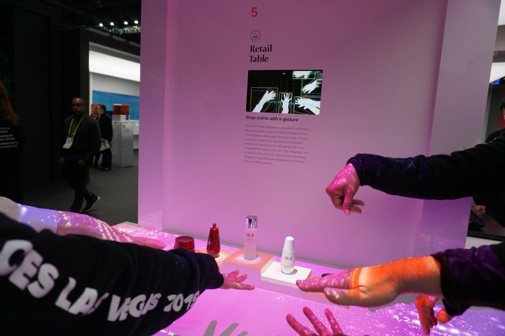 sk-ii procter & gamble ces 2019 retail technology
