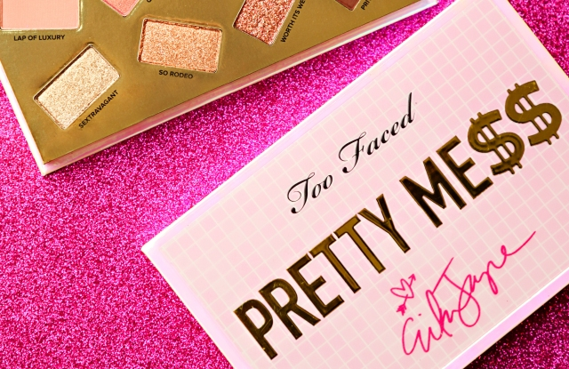 Erika Jayne x Too Faced's Pretty Mess eye shadow palette, $45.