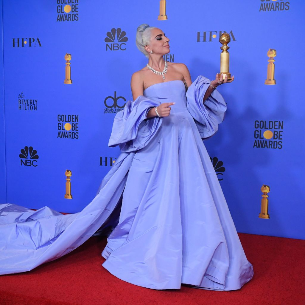Lady Gaga - Best Original Song, Motion Picture - 'Shallow', A Star Is Born'76th Annual Golden Globe Awards, Press Room, Los Angeles, USA - 06 Jan 2019