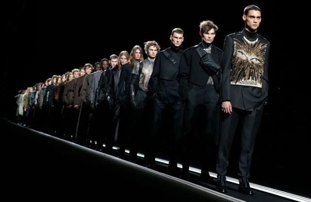 Models on the catwalkDior Men show, Runway, Fall Winter 2019, Paris Fashion Week Men's, France - 18 Jan 2019