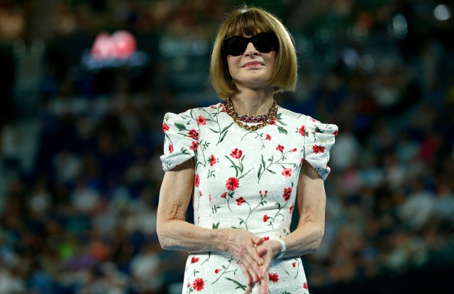 Anna Wintour is known to be an ardent fan and player of tennis.