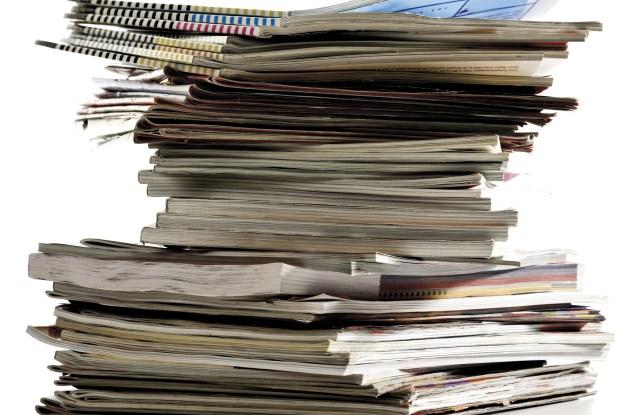 Stack of magazinesVARIOUS