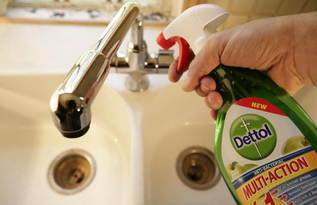 Dettol anti-Bacterial spray, a Reckitt Benckiser brand