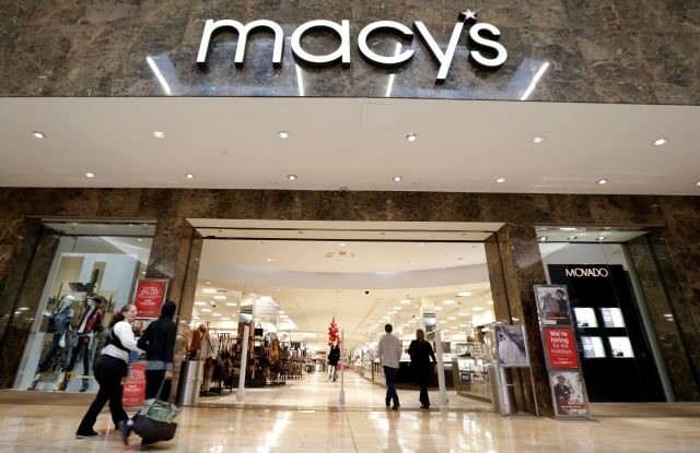 macy's holiday sales