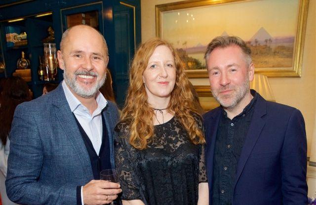 Sergio Bucher, Thea Bregazzi and Justin Thornton'Studio by Preen' launch, London, UK - 04 Apr 2018