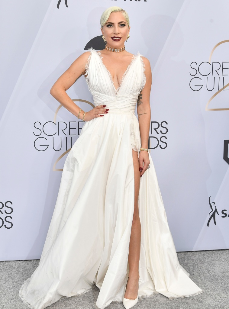 Lady Gaga25th Annual Screen Actors Guild Awards, Arrivals, Los Angeles, USA - 27 Jan 2019