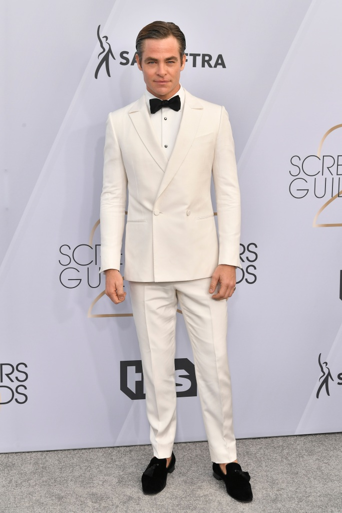 Chris Pine25th Annual Screen Actors Guild Awards, Arrivals, Los Angeles, USA - 27 Jan 2019