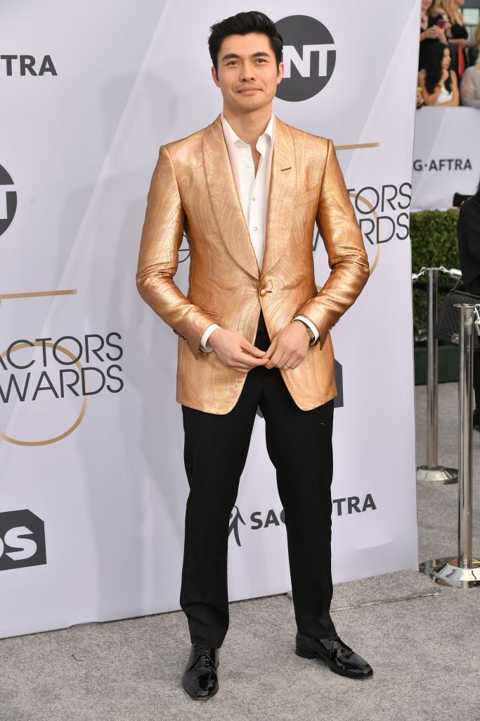 Henry Golding25th Annual Screen Actors Guild Awards, Arrivals, Los Angeles, USA - 27 Jan 2019