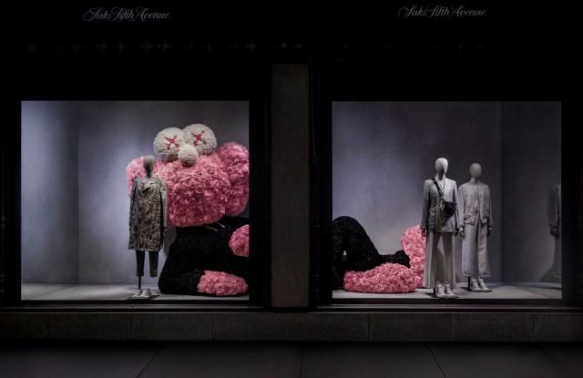 Saks X Dior windows