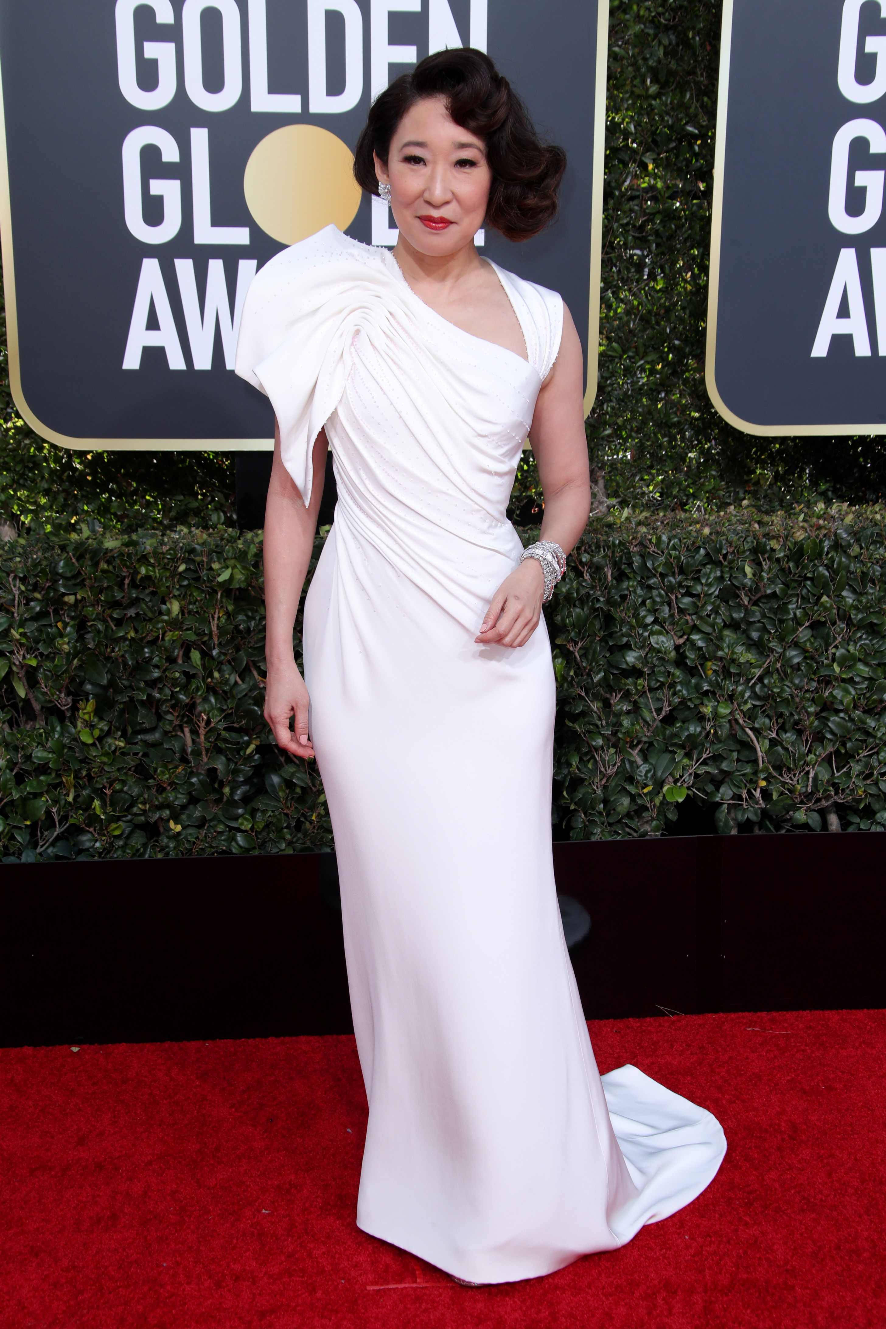 Sandra Oh76th Annual Golden Globe Awards, Arrivals, Los Angeles, USA - 06 Jan 2019