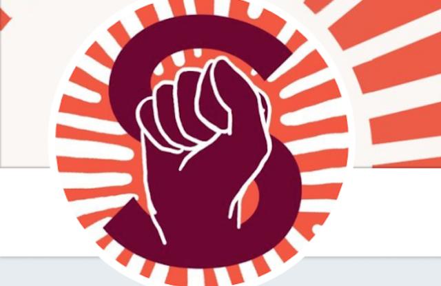 Slate's union logo.