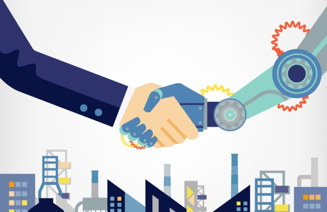 """""""Collaborative thinking"""" in the warehouse means humans and robots work in tandem."""