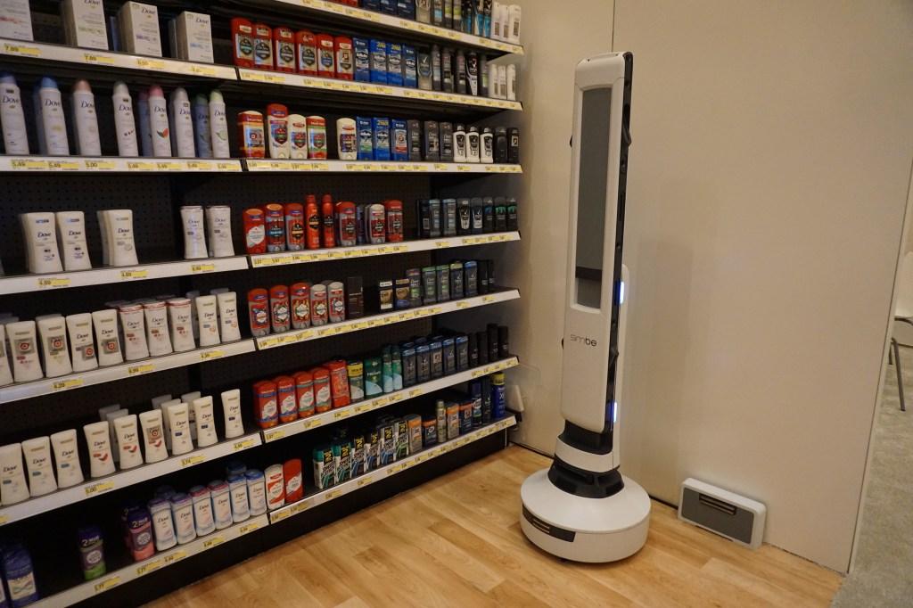 Softbank Simbe Tally Pepper retail robots ces 2019