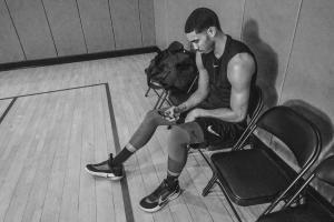 The Boston Celtics' Jayson Tatum was among the athletes that tested Nike's Adapt BB shoe.