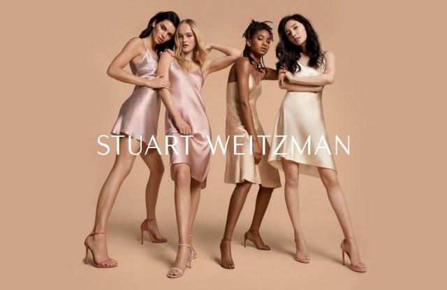 Stuart Weitzman's spring 2019 campaign.