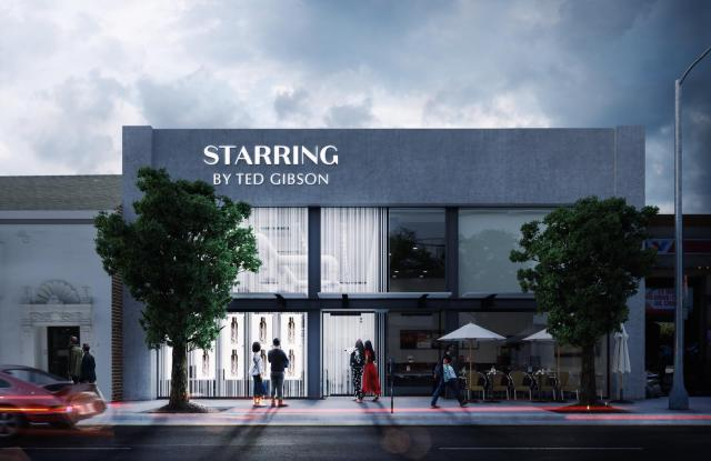 Starring by Ted Gibson is expected to open its Los Angeles outpost in mid-to-late February.