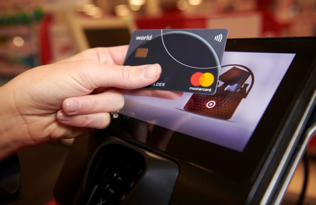 Mastercard's contactless technology.