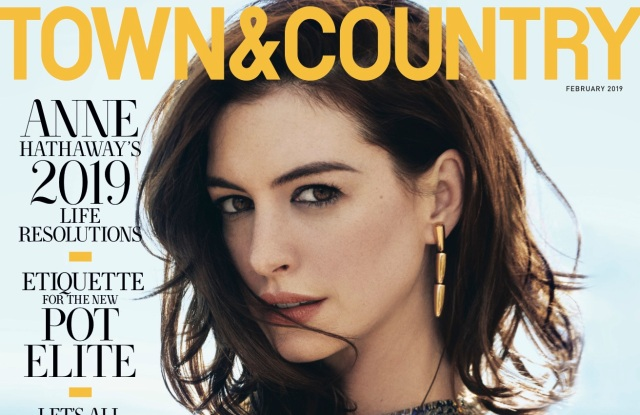Town & Country's February 2019 issue.