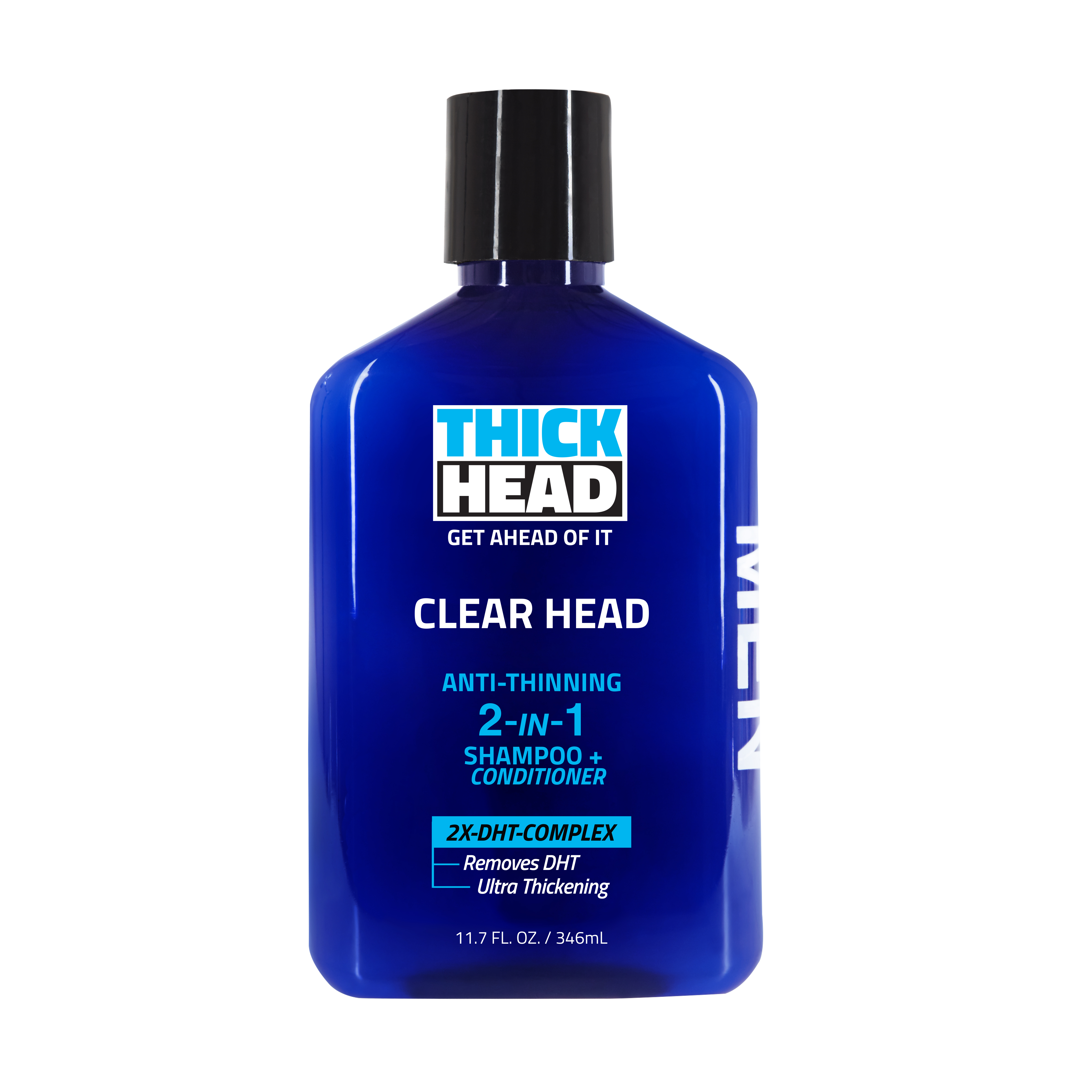 Clear Head is a combination shampoo and conditioner.