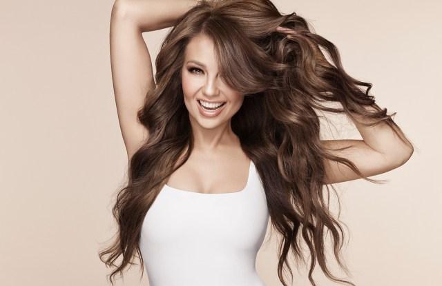 Thalía Sodi is launching a hair-care line, Adria by Thalía.