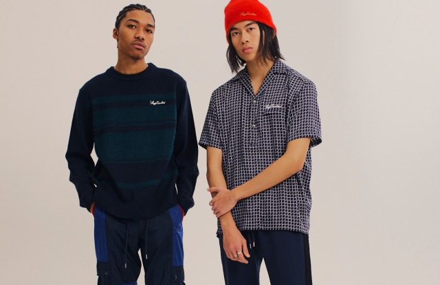 Looks from Sergio Tacchini's White Label collection.