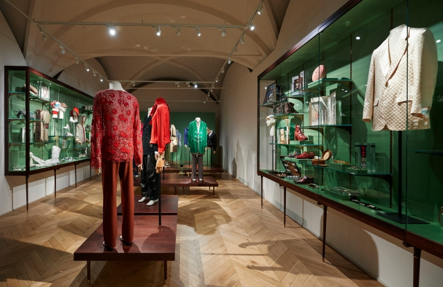 """""""The Male – Androgynous Mind, Eclectic Body"""" exhibition at Gucci Garden in Florence."""