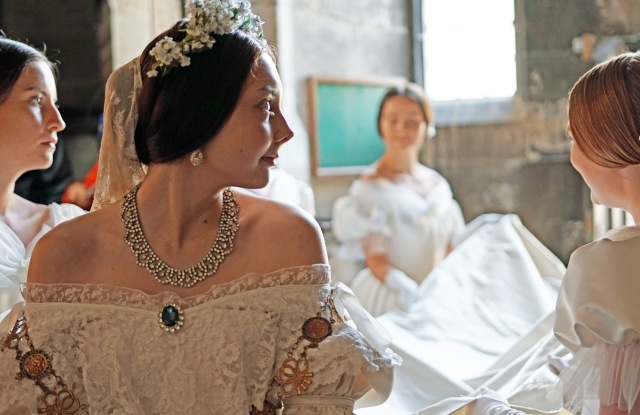 """A glimpse of """"Victoria & Albert: The Wedding,"""" which will air on PBS Jan. 13 and Jan. 20."""