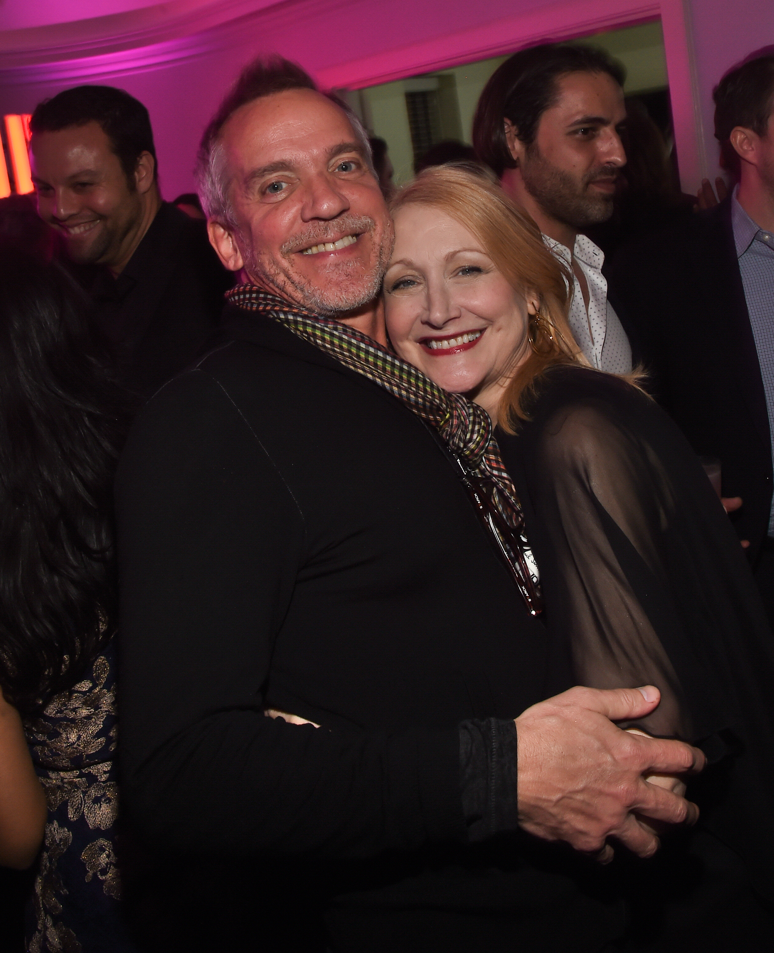 Jean-Marc Vallee and Patricia Clarkson