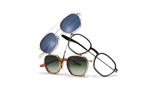 Barton Perreira eyewear.