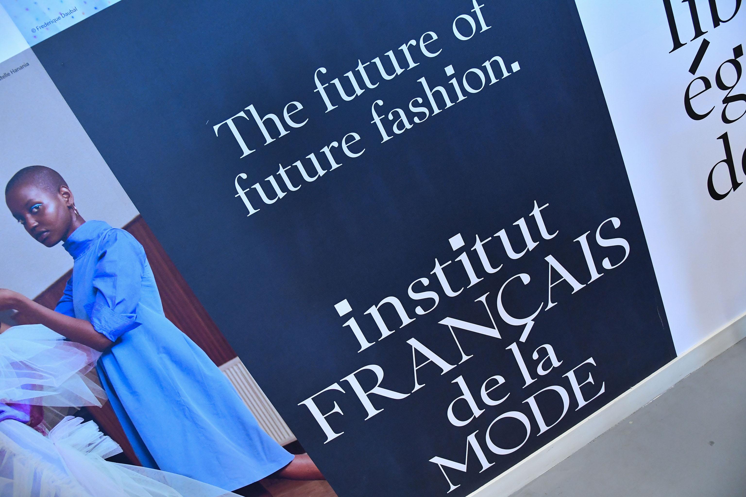 The new logo of the Institut Français de la Mode