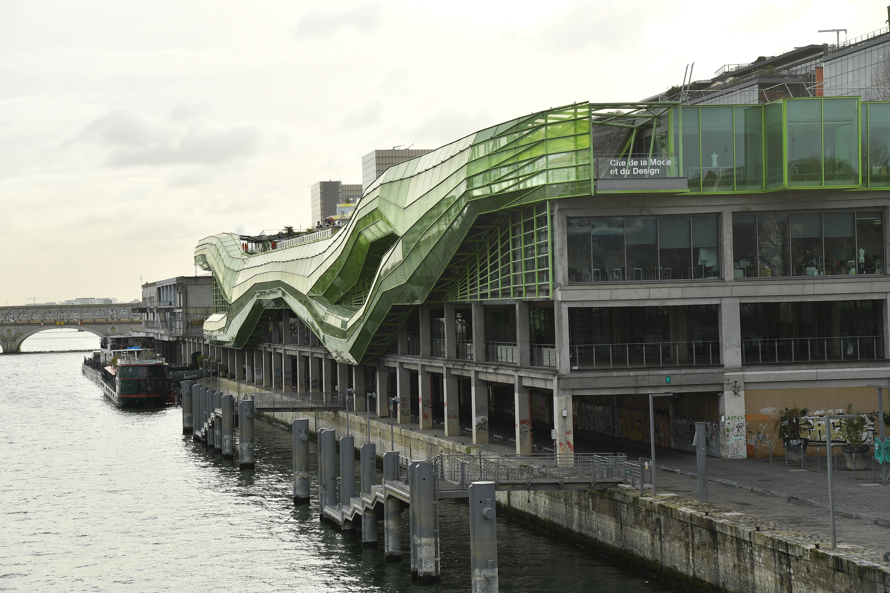 The Cité de la mode et du design
