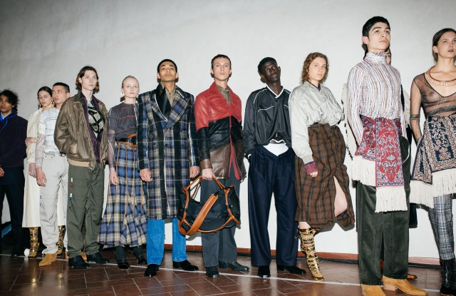 Backstage at Y/Project Men's Fall 2019