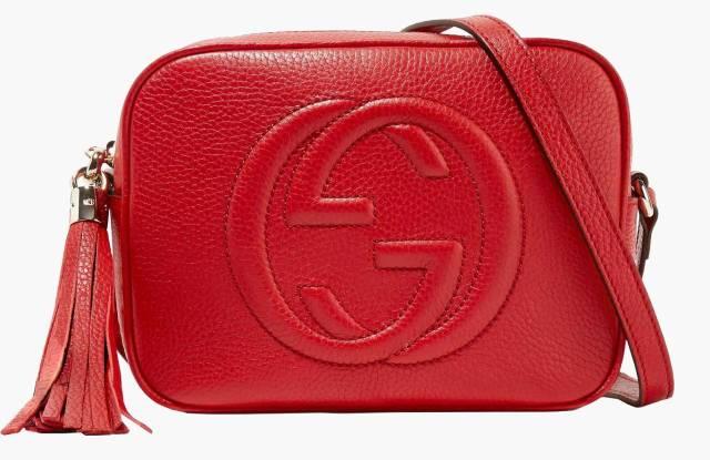 Gucci red Soho Disco shoulder bag.