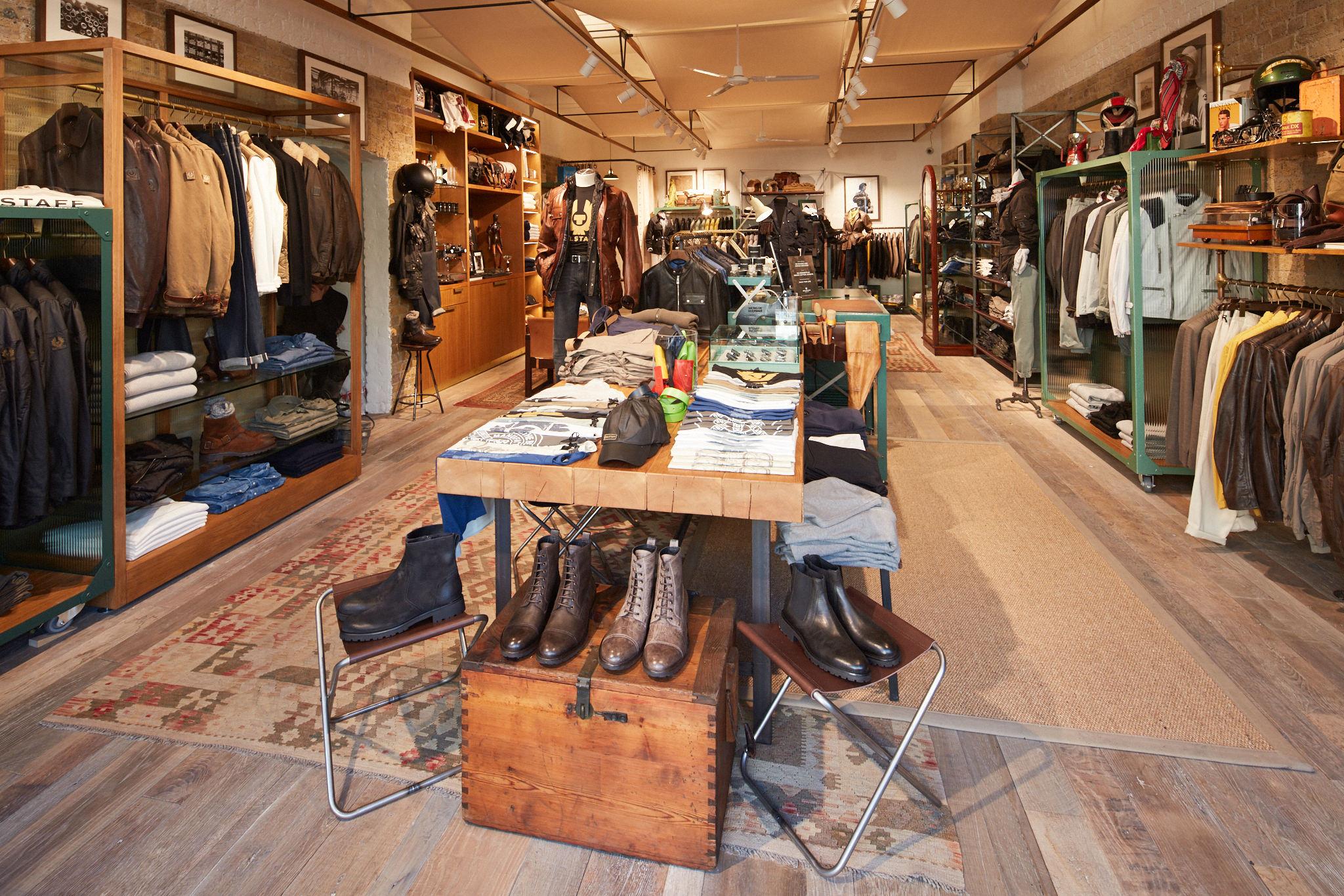 Belstaff Spitalfields store