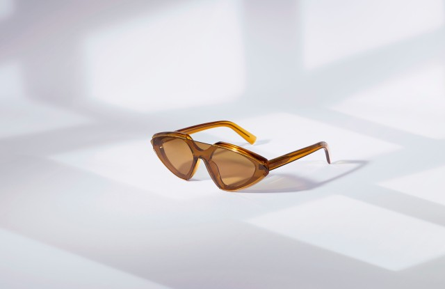 A style from the new Sportmax eyewear collection licensed to Marcolin Group.
